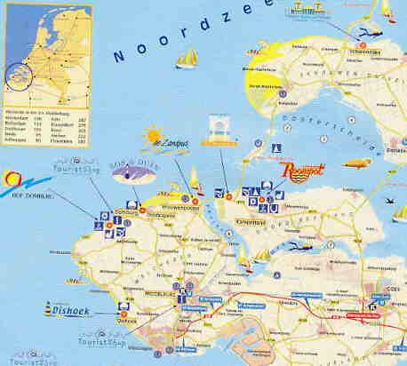 Zeeland Karte Niederlande.Zeeland